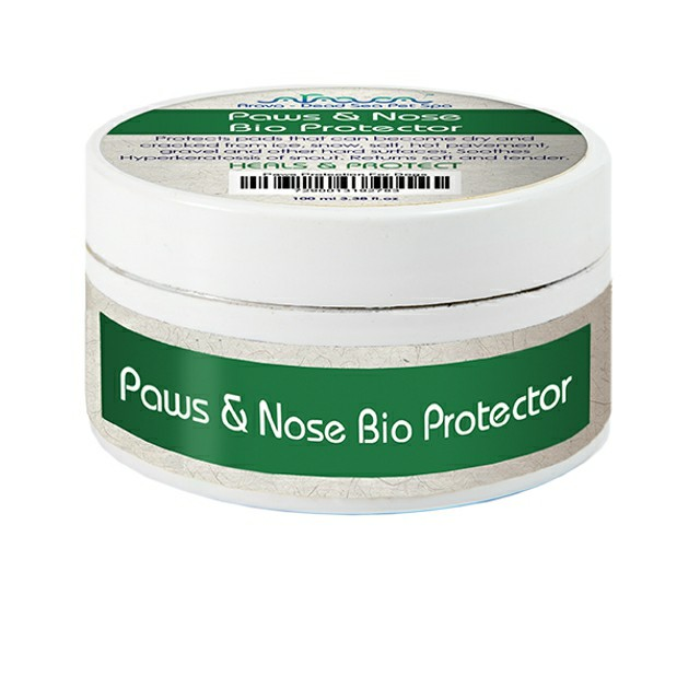 Top care for dry paws and nose.